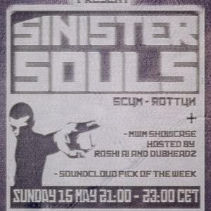 Blame it on the dutch #6 part 1 feat. Sinister Souls.  airdate: may 15th on glitch.fm