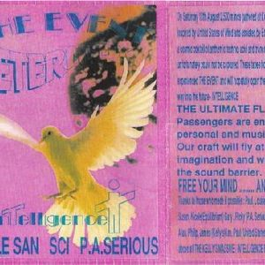 Sci - Live @ The Event Kellys 13-08-1994 - Side A - Intelligence Mix