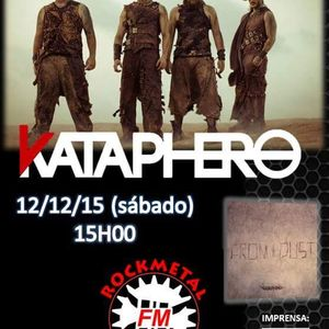 ENTREVISTA BANDA KATAPHERO 12.12.15 RÁDIO ROCKMETAL