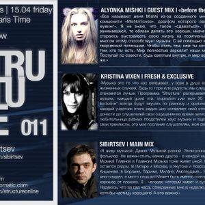 Structure Radio Show 011 (2Capitales Radio, Paris) fresh'n'exclusive by Kristina Vixen (15.04.2011)