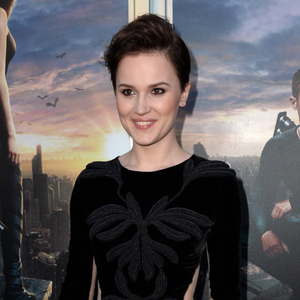 Veronica Roth in conversation before the Insurgent premiere