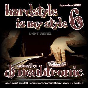 DJ Neubtronic - Hardstyle Is My Style Vol. 6 - 12.09
