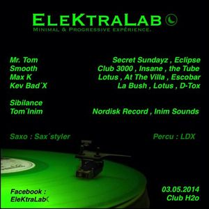 03/05/2014 - Closing Set dj Smooth live @EleKtraLab (Club h2o)
