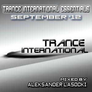 Trance International Essentials - September '12 (mixed by Aleksander Lasocki)