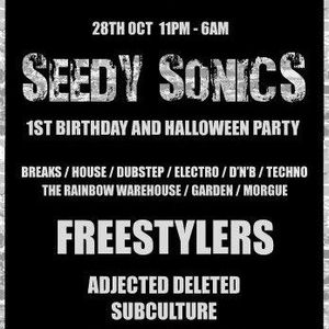 Seedy Sonics presents Hospitality DJ Competition
