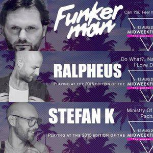 Stefan K Live @ Midweekfeesten - Aug 12th - OUTDOOR