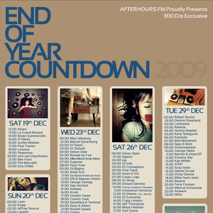 Kristina Sky – End Of Year Countdown 2009 on AH.FM