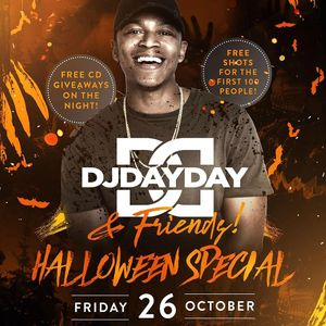 @DJDAYDAY_ / The Halloween Special @ Bambu Bar Birmingham / Friday 26th October