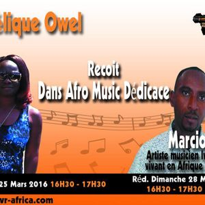AFRO MUSIC DEDICACE: EMISSION MUSICALE DE LA VRA