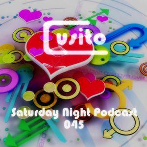 Cusito - Saturday Night Podcast 045 (10-11-2012)
