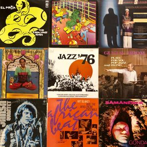 My Vinyl Collection - Jazzin
