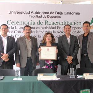 INFORMATIVO UABC - Reacreditan Licenciatura Actividad Física y  Deporte; Laboratorios Deportes