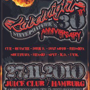 Steve Phatvibe's 30th ANNIVERSARY @ JuiceClub, Hamburg / Germany // PRIMETIME BASS WITH FULL MC GAME