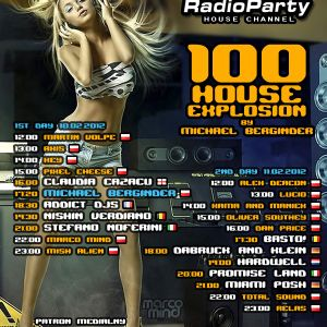 Michael Berginder - House Explosion 100 (11.02.12) Dan Price Guestmix