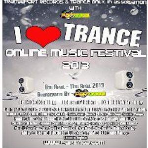 Dj Surfer, I Love Trance Festival 2013 Mix