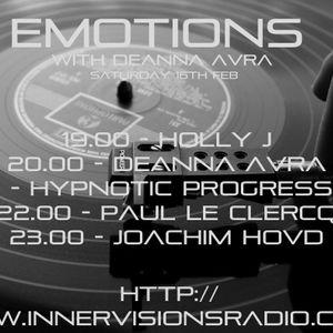 Hypnotic Progressions - Emotions @ Innervisions Radio UK (02-16-13)