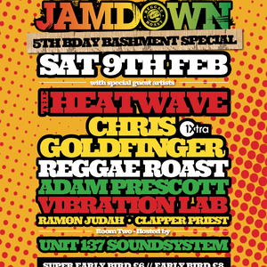 The Heatwave Promo Mix - Reggae Roast Jamdown @ Plan B, Brixton on 9th Feb 2013