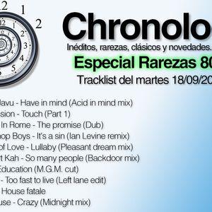 Chronology 18sept2012