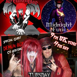 Midnight's Metal Grinder : October Spooky Special with Co-Host Demon Boy!