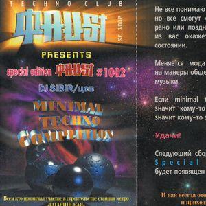 Sibirtsev DJ Set @ Faust (Novosibirsk) 1998 Side A