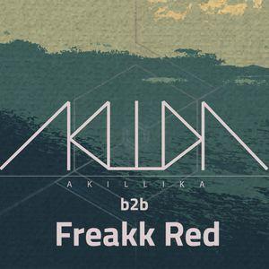 Freakillika (Freakk Red b2b AkillikA) @ Sommer im Bunker 11.08. 2018