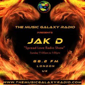 JAK D's Spread Love Radio Show 170716
