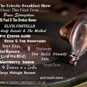 The Eclectic Breakfast Show March 2nd 2019