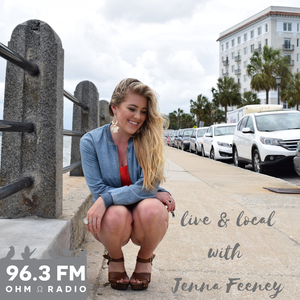 Live & Local with Jenna 7-24-19 with BLOWBACK
