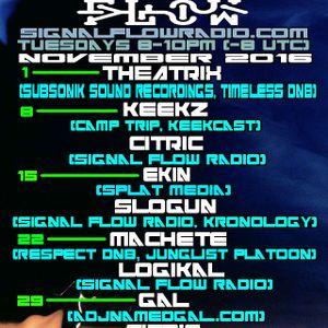 Signal Flow Radio Nov 8th 2016 Keekz & Citric