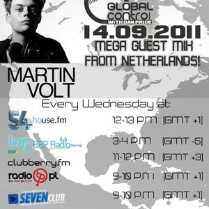 Dan Price - Global Control Episode 024 (14.09.2011) Martin Volt Guestmix