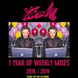JAMSKIIDJ - FRIDAY VIBES WEEK 52   1 YEAR OF WEEKLY MIXES 2018/2019   INSTA - @JAMSKIIDJ