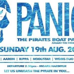 Noogstar Live @ Panic Pirates Boat Party