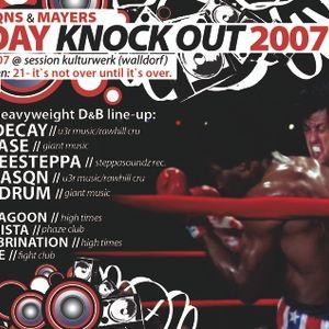 franqns b-day knock out 2007 @ SESSION KULTURWERK 11.05.2007 / DJ REDRUM