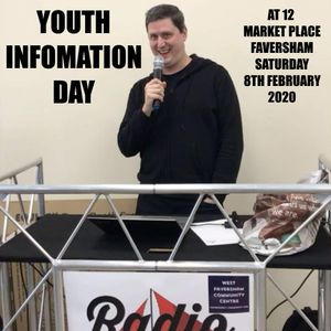 Radio Faversham at the Youth Information Day with Jon G & Tom Docker - 8th February 2020