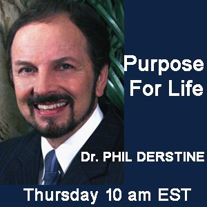 Pastor Phil Derstine interviews Ron Bauza on Purpose for Life this week