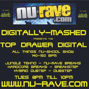 Digitally-Mashed - TDD Show Live on www.nu-rave.com 04-01-11
