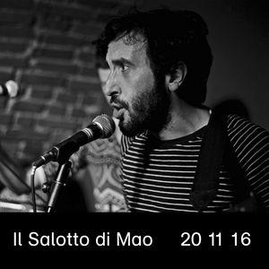 Il Salotto di Mao (20|11|16) - Loris Dali | NeroSud, Neverwhere | Rudy Saitta