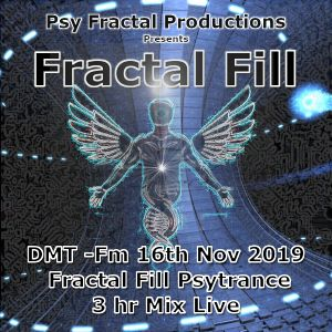 Fractal FiLL - DMT-FM - Live 3hr Set Psytrance Mix