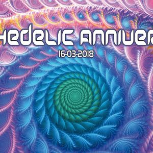 Paul B - Psychedelic Anniversary (16-03-2018)