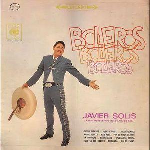 Javier Solís - LP Boleros, Boleros, Boleros