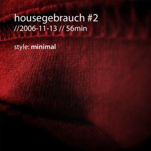 dantist - housegebrauch #2 (minimal) (2006)