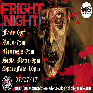 New Jungle Hardcore Techno Gabba Oldskool  Mix - DJ Neurosis Fright Night Radio Episode 5