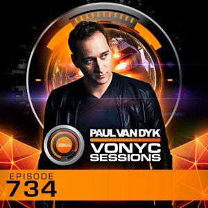 Paul van Dyk's VONYC Sessions 734