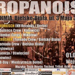 WOODEN B-DAY PROPANOISE@ARHYTHMIA BIELSKO 1.07.2011