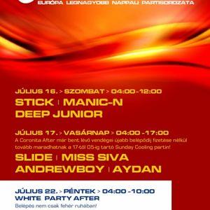 Andrewboy & Aydan - Live @ Coronita Club,Budapest (2011 07 17)