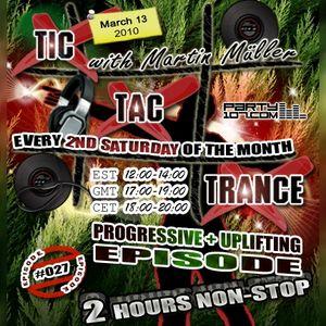 Tic Tac Trance #027