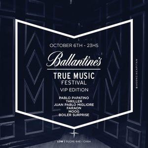 Moog - Ballantine's True Music Festival Argentina DJ set