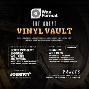 Nick The Kid @ Journey & Wax Format, The Vaults, Cardiff - January 2019
