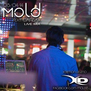 Mold ft. DanSax (saxophone) live @XDemon Leszno, Poland - 5.04.2014r.