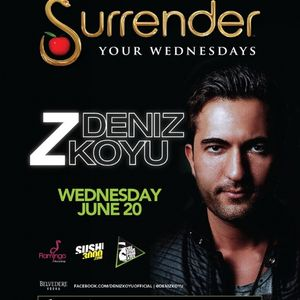 Deniz Koyu - Live @ Surrender Nightclub Las Vegas (USA) 2012.06.20.